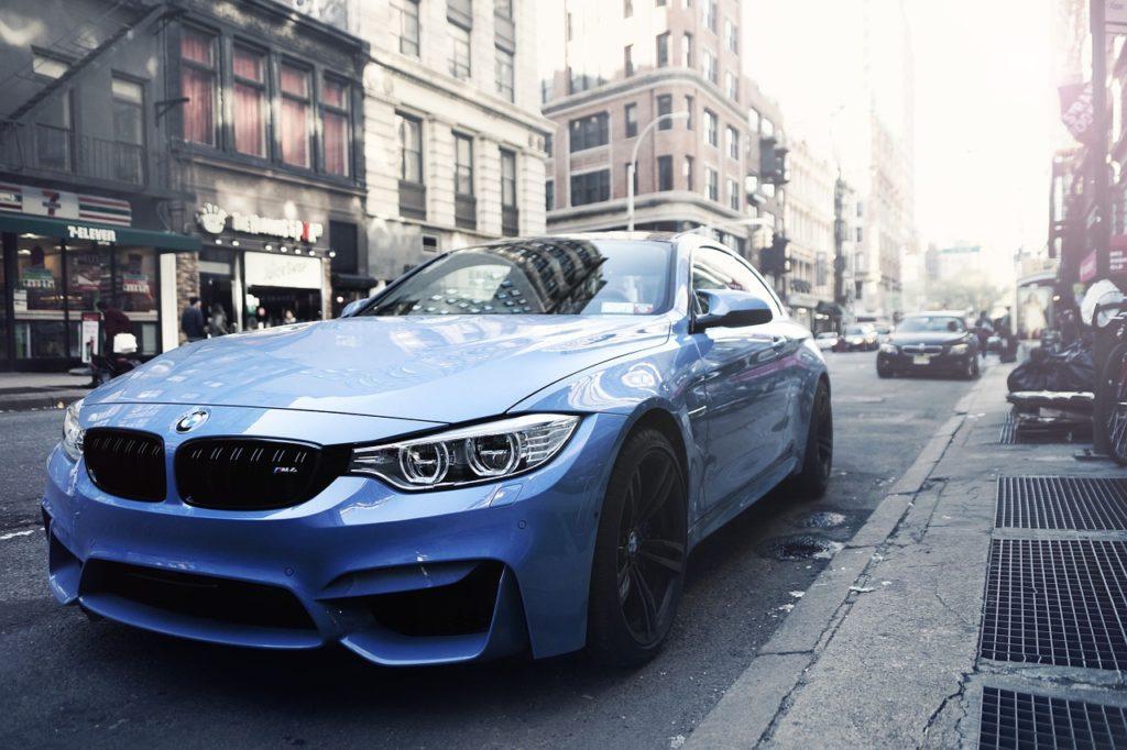Sportowe BMW do ślubu